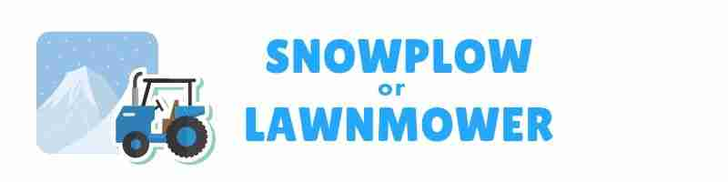 The Parenting Types - Snowplow parenting or lawnmower parenting